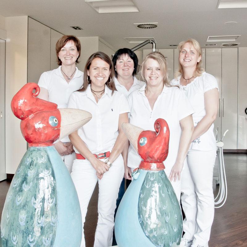 Team von Kieferorthopaedie Aguero